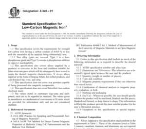 Astm A 848 – 01 pdf free download