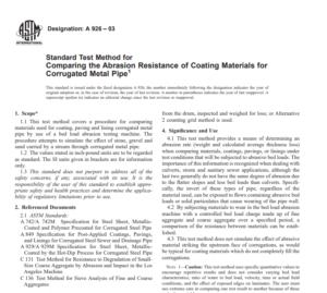 Astm A 926 – 03 pdf free download