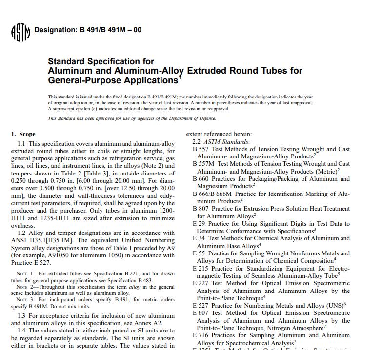 Astm B 491/B 491M – 00 pdf free download - All civil