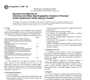 Astm C 889 – 99 pdf free download