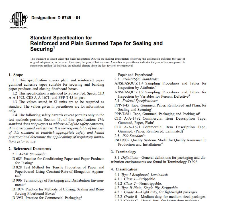 Astm D 5749 – 01 pdf free download - All civil engineers standard PDF