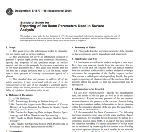 Astm E 1577 – 95 (Reapproved 2000) pdf free download
