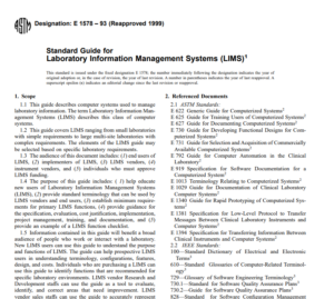 Astm E 1578 – 93 (Reapproved 1999) pdf free download