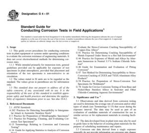 Astm G 4 – 01 pdf free download