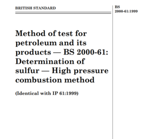 BS 2000-61:1999 pdf free download