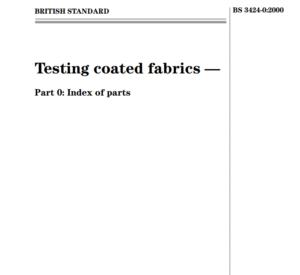 BS 3424-0:2000 pdf free download