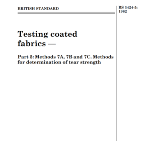 BS 3424-5: 1982 pdf free download
