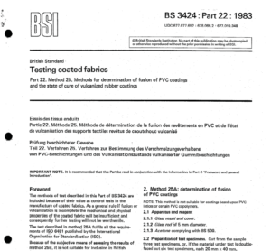 BS 3424:part:22 :1993 pdf free download