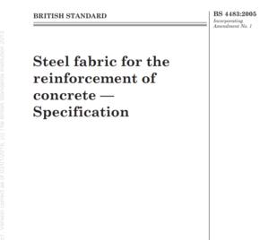 BS 4483:2005 pdf free download