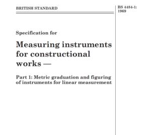 BS 4484-1: 1969 pdf free download