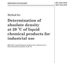 BS 4522:1988 ISO 758:1976 pdf free download